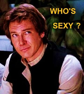 you are, harrison ford....you are.