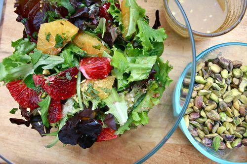 Blood Orange Salad | Recipes/Food | Pinterest | Blood Orange, Blood ...