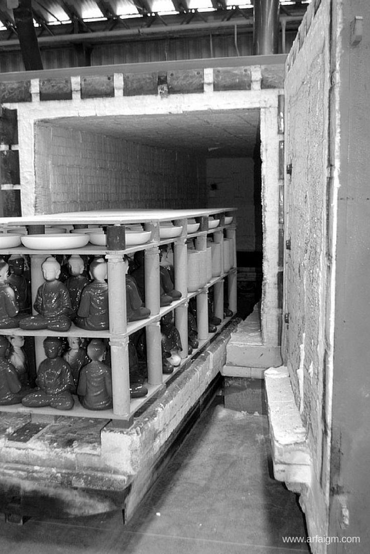 #factory #ceramicsproductionprocess #ceramics #production #manufacture #handmade #kilns #firing  | By Arfai & IGM
