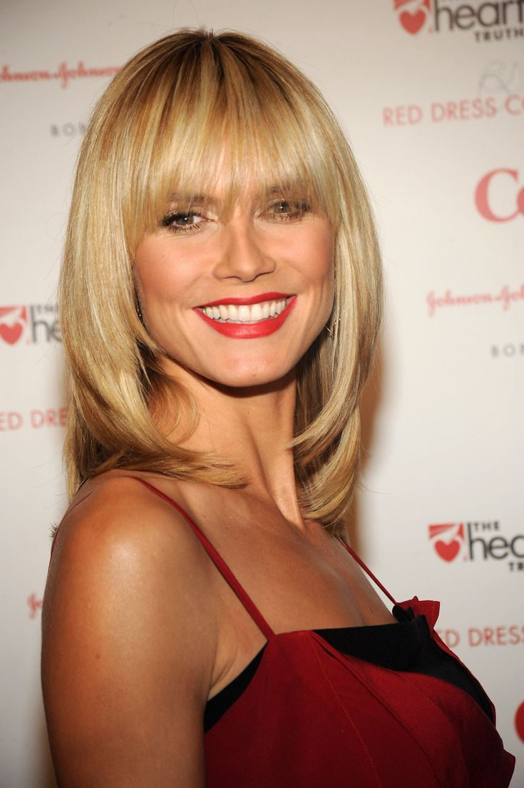 length hair styles 1000 ideas about heidi klum hair on heidi 9309