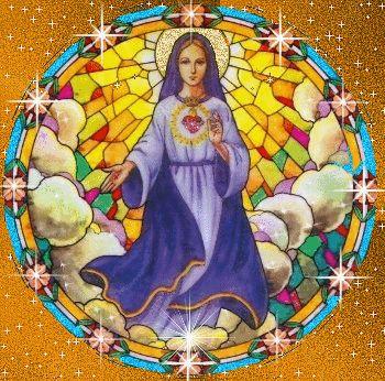Образ Марии - Убежище Святой Любви. Этот образ имеет обещание Богородицы защищать от зла. Необходимо иметь в доме. Скачайте тут: http://www.holylove.org/files/med_1193323819.jpg