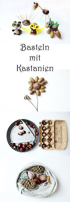 Crafting with chestnuts and acorns: 7 brilliant ideas + video