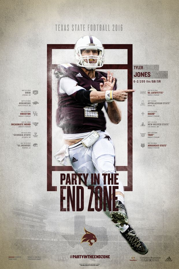 PosterSwag.com 2016 FBS Football Poster Final Rankings