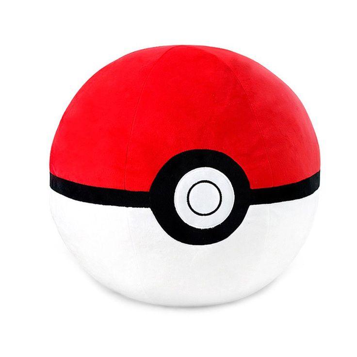 "Authentic Pokemon XY Character Poke Ball 35cm 14"" Cushion Plush Doll #Pokemon"