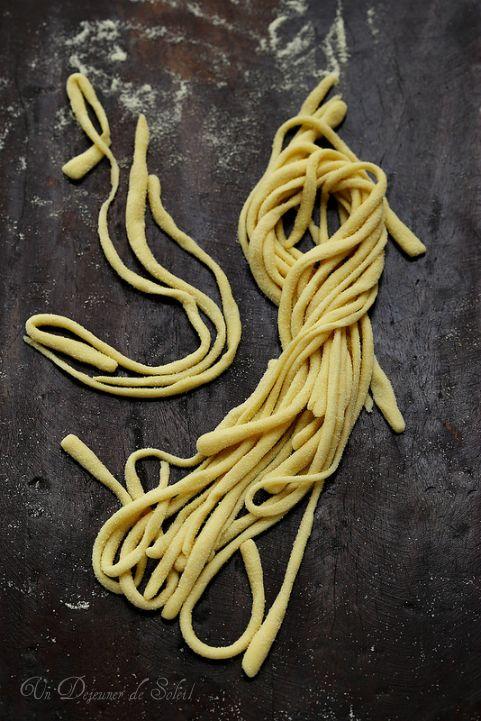 Pici les pâtes fraîches typiques de la Toscane