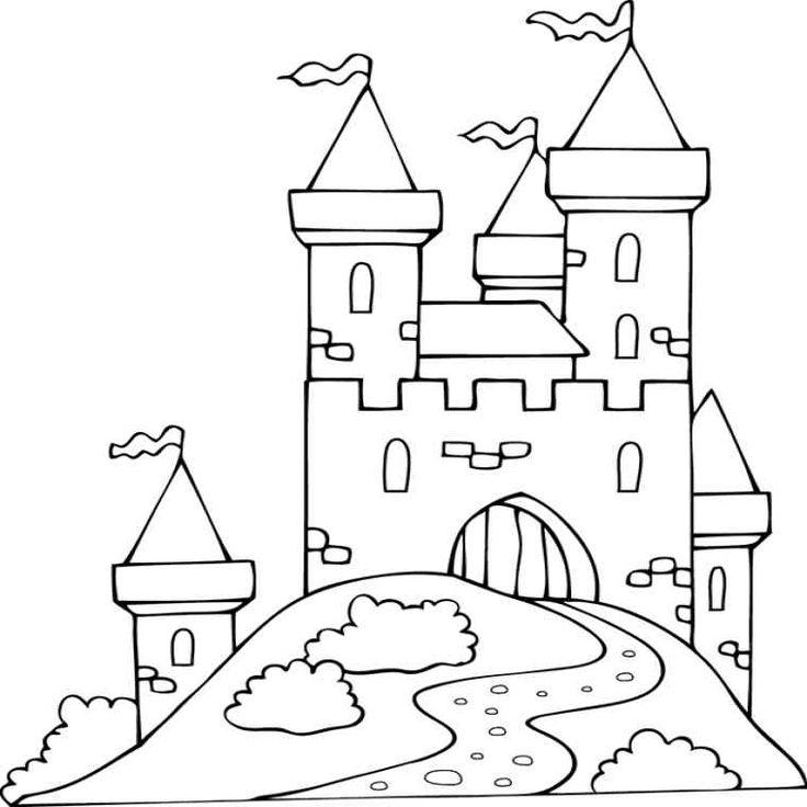 chateau disney coloriage meilleur de 96 dessins de coloriage chateau a imprimer sur laguerche 2 ...
