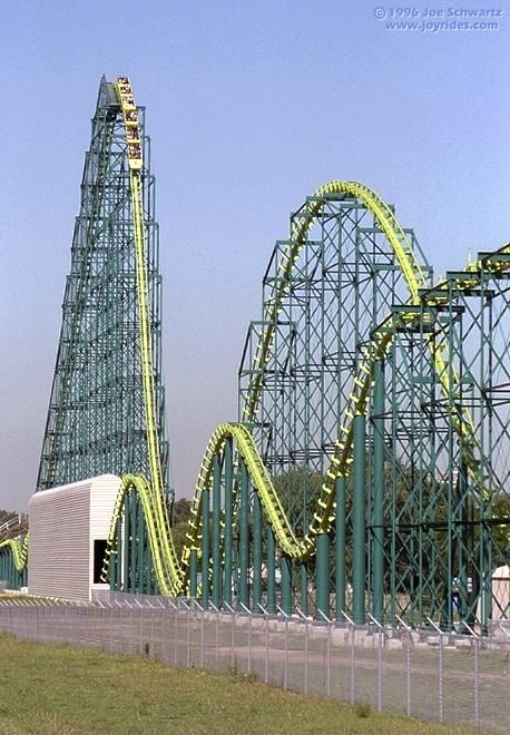 Wild Thing, Valleyfair, Minnesota .  My favorite ride today!-- Valleyfair <3 this is where we got engaged :)