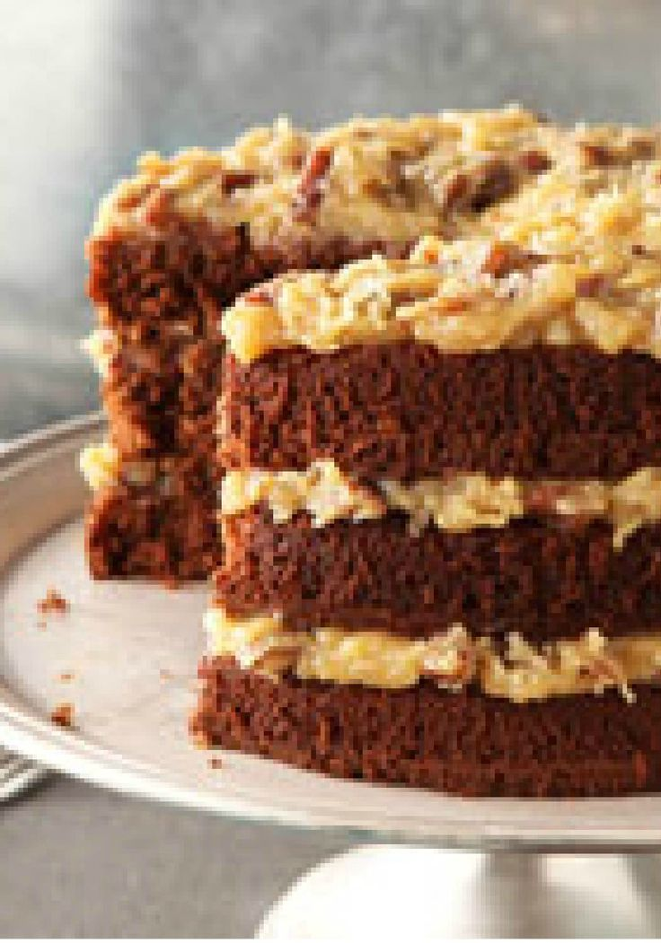 Original BAKER'S GERMAN'S Sweet Chocolate Cake – Make this classic BAKER'S GERMAN'S chocolate cake recipe for your next special occasion and see for yourself what all the fuss is about!