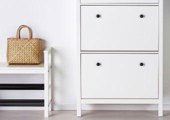 すべての ランドリー シリーズ - IKEA HEMNES/ヘムネス 玄関用シリーズ ホワイト