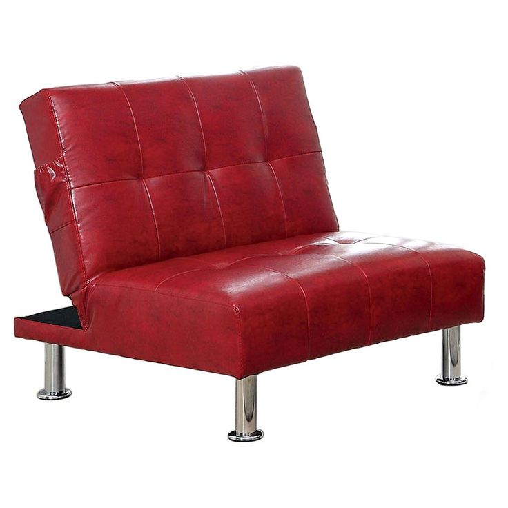 Venetian Worldwide Transitorio Futon Chair, Red