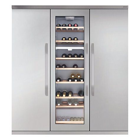 Jlwff1554 Side By Side Wine Cooler Fridge Freezer In