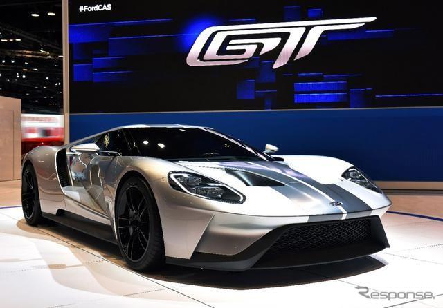【シカゴモーターショー15】フォード新スパーカー「GT」に新仕様…レーシング色つよく http://dlvr.it/8Zg2v9