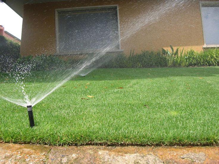 Sistema de riego para jardines particulares.