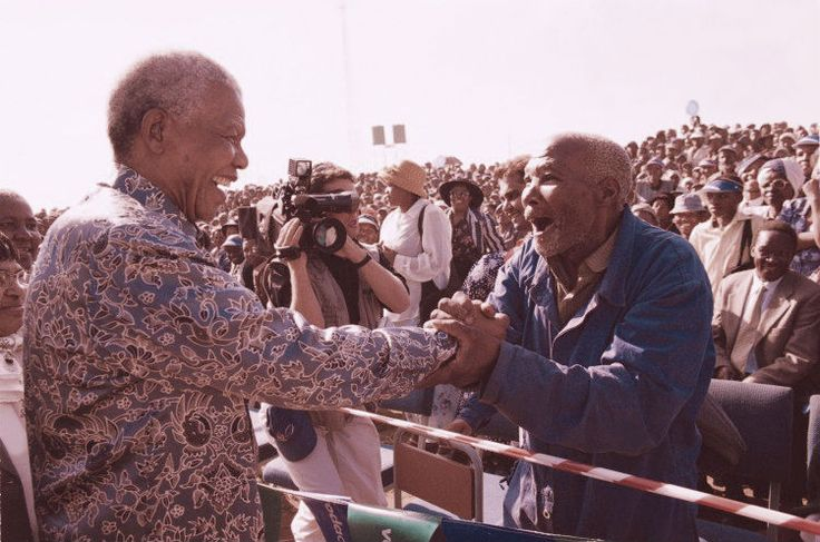 This picture was taken in Bizana in the Eastern Cape in 2001. I had the opportunity to be there to document the event for TV News. Submitted by Dave Coles