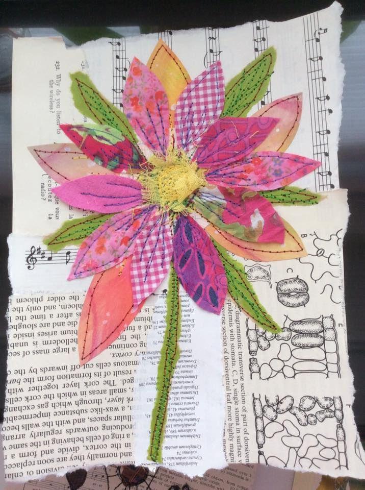 pieced flower