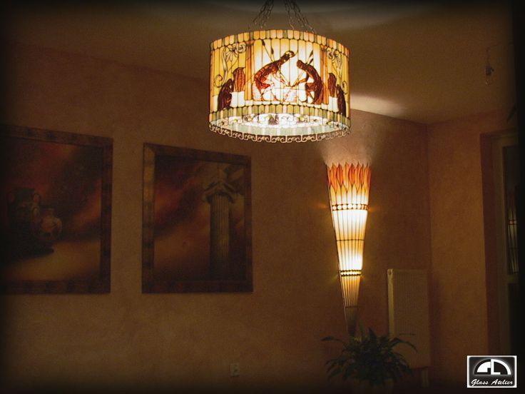 #glassatelier , #lampy , #tiffany