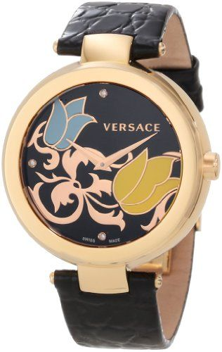 Versace Women's I9Q80SD9TU S009 Mystique Rose Gold Ion-Plated Stainless Steel Chronograph Watch | Your #1 Source for Watches and Accessories...