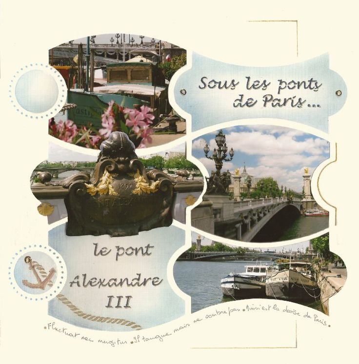 Ponts de Paris Duo baroque