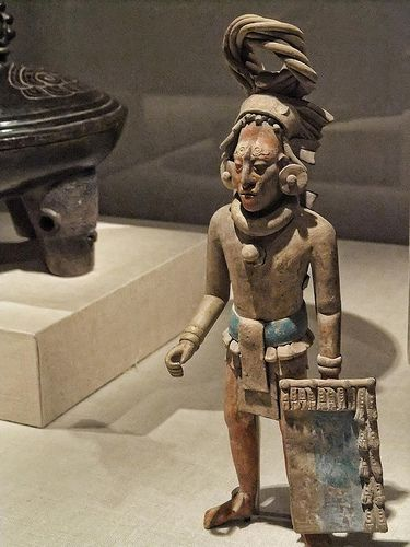 Figure of a Standing Warrior late Classic Maya Jaina style…   Flickr