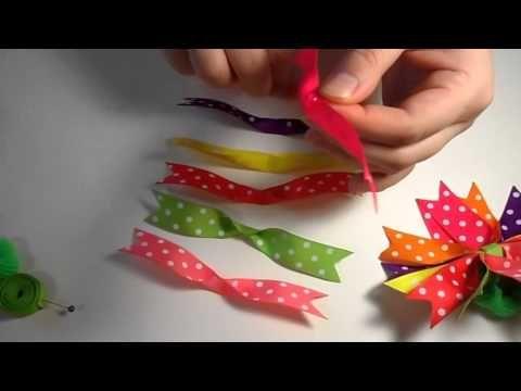 ▶ Радостные Детские Бантики . Мастер класс / D.I.Y. Joyful Baby Bows - YouTube