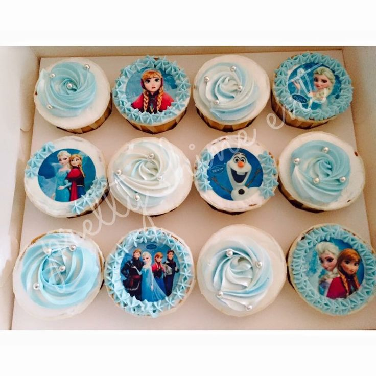 Pilihan ramai untuk kanak-kanak, Frozen tetap di hati.  Ingat lagu 'Let it go', ingat Frozen cupcakes! #KabilahAwanBiru #AwanBiru #cake #desserts #KotaBharu #Kelantan #sweettoothsweetsmile #PrettyShineEnterprise