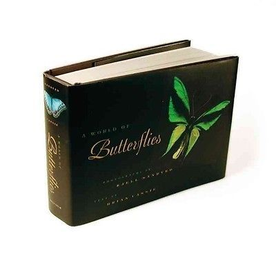 NEW A World of Butterflies by Brian Cassie Hardcover Book (English) Free Shippin