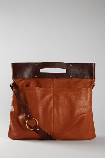 MK Totem - gadget travel bag in cognac