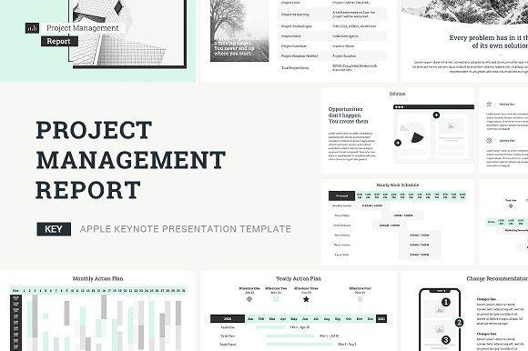 Project Management Keynote Template Keynote Template Project Management Presentation Design Template