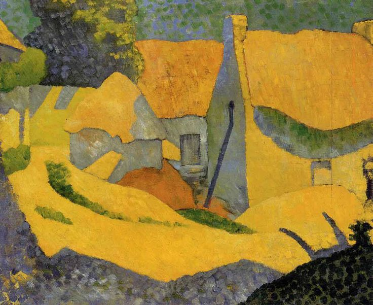 Paul Serusier, Yellow Farm at Pouldu, 1890