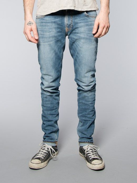 slim jeans - Blue Nudie Jeans