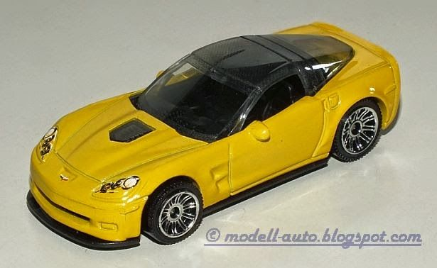 Mattel Matchbox Chevrolet Corvette 2008