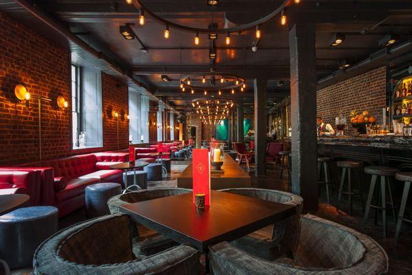 The Old Bengal Warehouse, London LIGHTING: into lighting DESIGN: Conran&Partners #restaurant #lighting #design