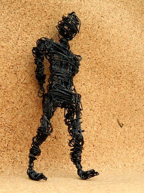 Sculptura Waiting de bARTline Breslo