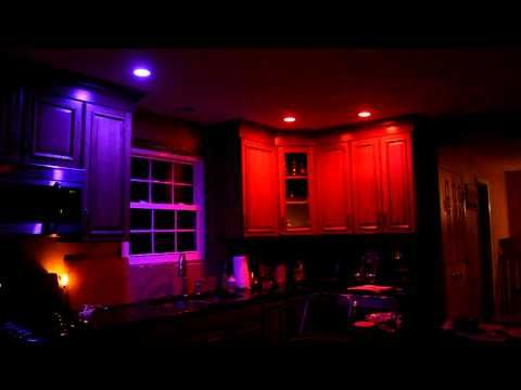 Philips Hue Bulbs In Kitchen Conrolled By Your Phone!