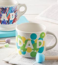 Dad's Day Coffee Mug | DIY Father's Day Gifts | Father's Day Gift Ideas