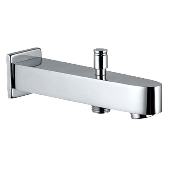 Buy Jaquar SPJ-81463 Vignette Prime Bath Tub Spout With Button Attachment For Hand Shower With Wall Flan in Taps through online at NirmanKart.com