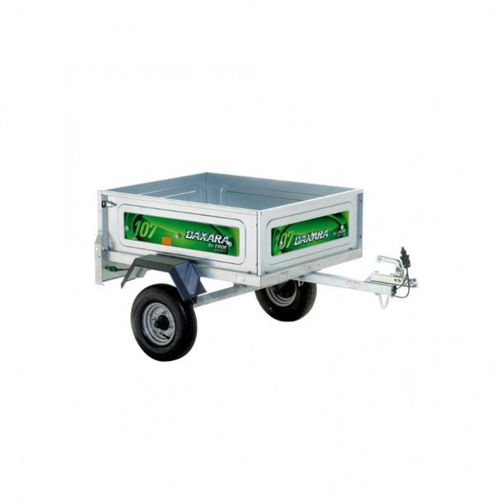 Remolque amplio y económico Buena capacidad al mínimo precio. Ideal como ampliación del maletero de su vehículo http://trailcenter.es/remolques/remolque-ocio/remolque-daxara-107.html #remolques #trailcenter