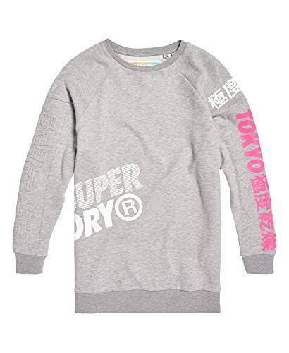 pretty nice 8b174 c4848 Superdry Damen Japan Edition Oversize Sweat Sweatshirt grau ...