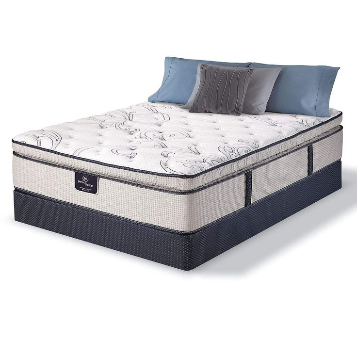 Sams Club Serta Perfect Sleeper Castleview Cushion Firm Pillowtop Queen Mattress Box Springs Delivery