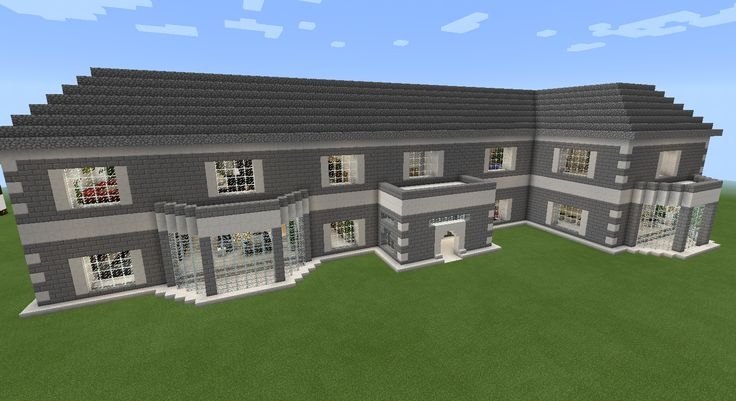 Minecraft Realistic Brick House With Balcony Minecraft