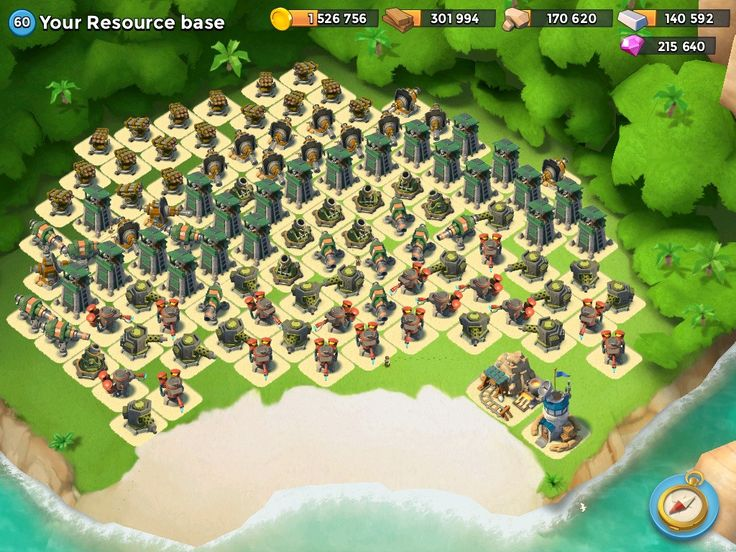 Boom beach.... Defeat this island! Lol   jeux tablette ...