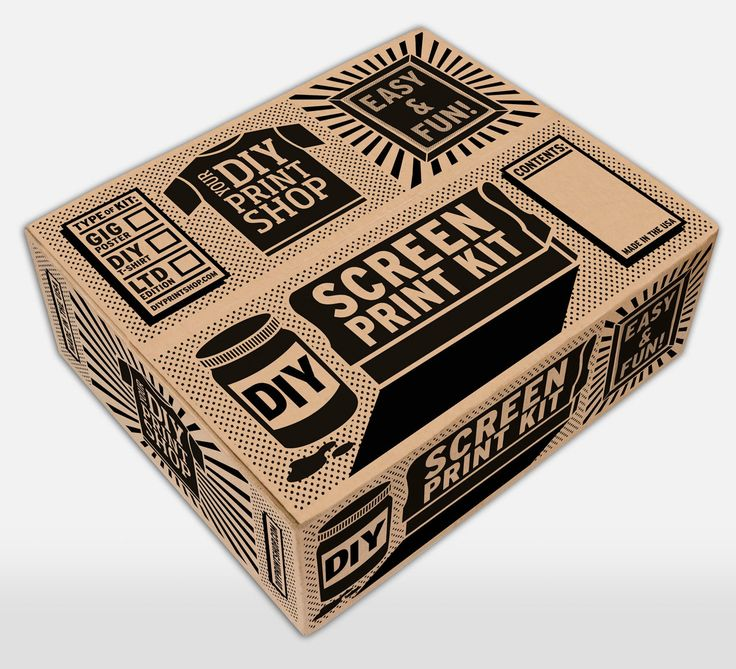 Great packaging and a nice set up for those new to screen printing.