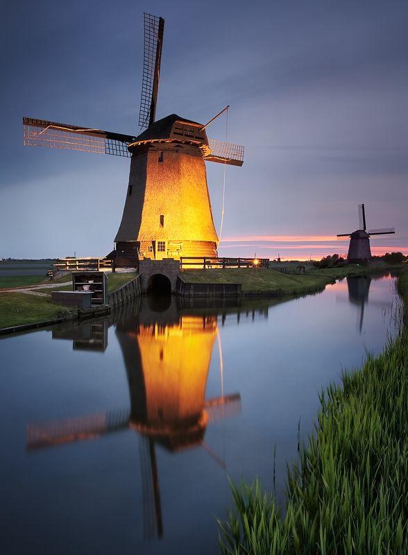 Die Windmühlen von Schermerhorn, Holland - DSLR-Forum