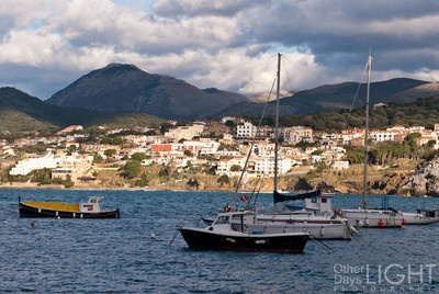Palinuro rests South of Cilento, and was named on one of Aeneas helmsmen. The small port is base for fishermen and a few happy yatchers.