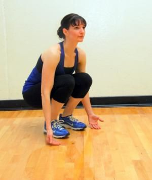 Hindu Squats: This squat variation gets your heartrate up faster!