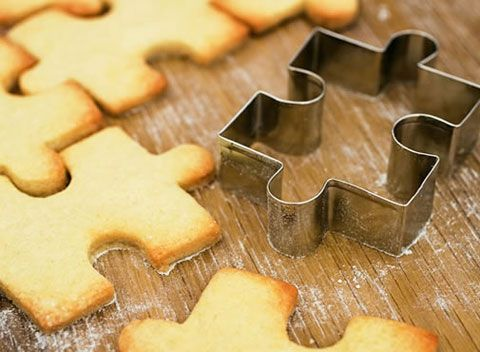 jig saw cookies - that's cool