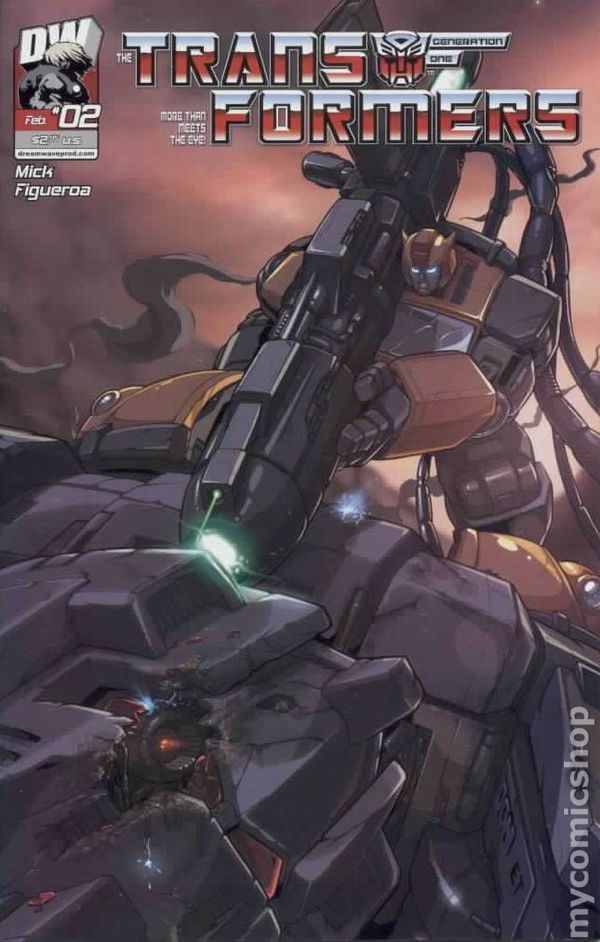 Transformers Generation 1 (2003 Volume 3) 2 Image Comics book covers Modern Age