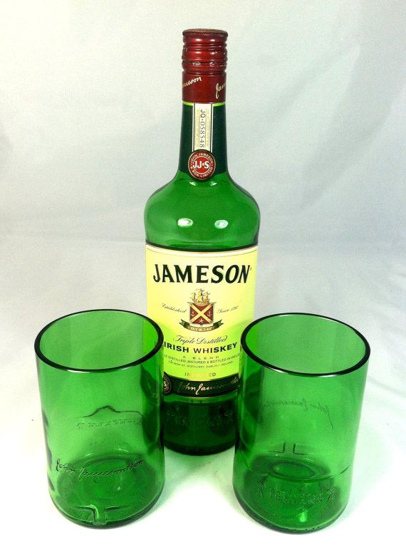 117 best images about upcycled glassware on pinterest for Mixed drink with jameson