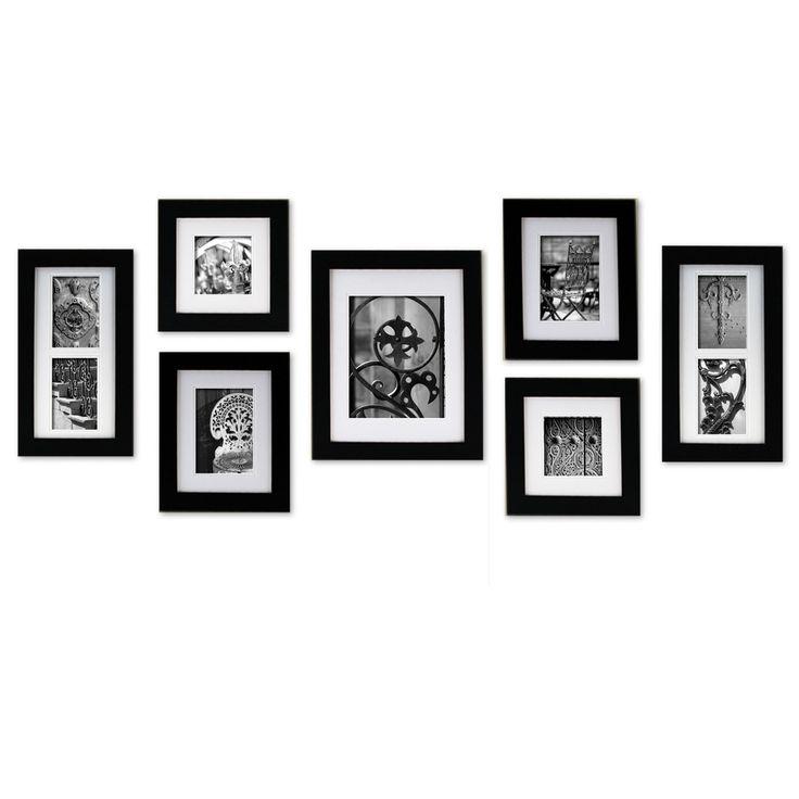 NielsenBainbridge Gallery 7-Piece Portrait Picture Frame Set