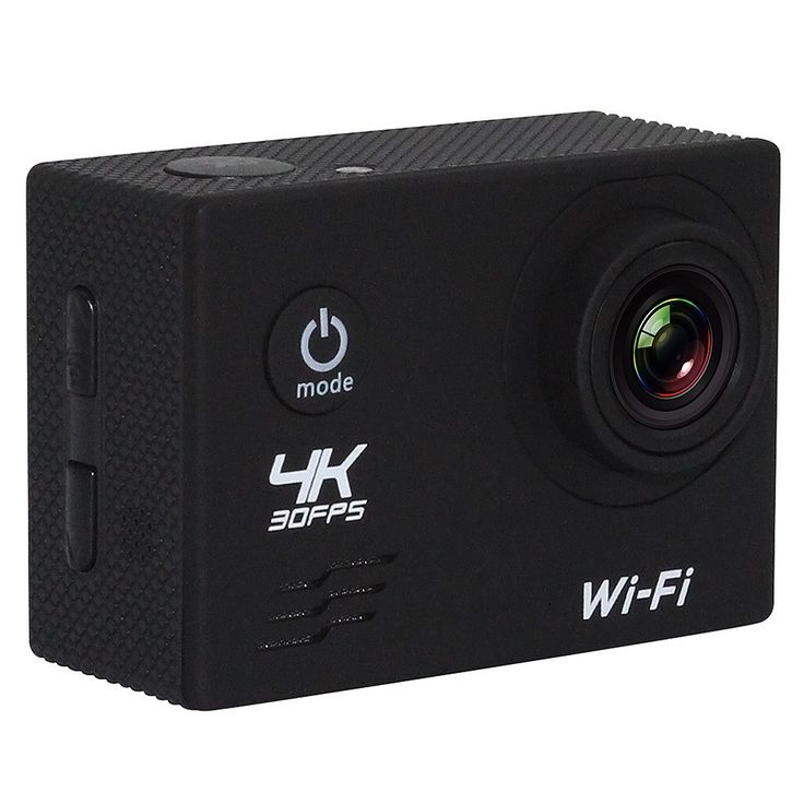 Only US$40.49, black Wifi 4K 30fps 1080P 60fps 16MP 170°Wide-angl Sports Action - Tomtop.com